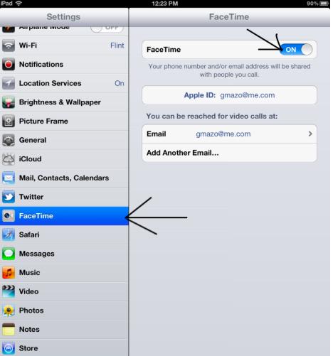 ynskeakelje gesicht tiid iPad image