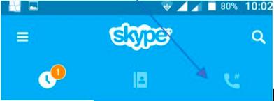 skype haza hívó kép