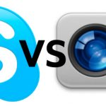 Skype vs FaceTime slike