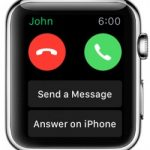 Apple Watch Telefòn apèl San yo pa iPhone