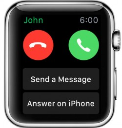 Taʻu Apple Watch Telefoni aunoa iPhone