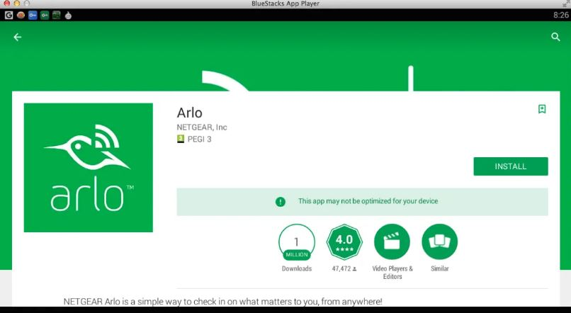 Arlo App for PC Windows