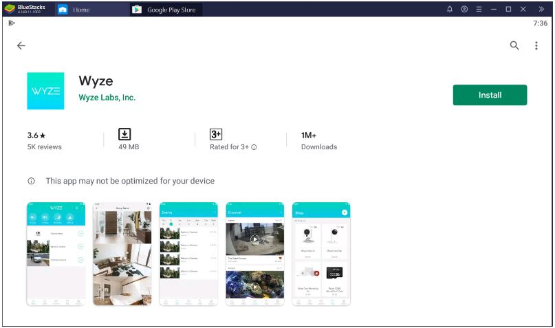 Download and Install the Wyze Cam App for PC Windows