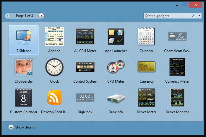 8GadgetPack Download For PC