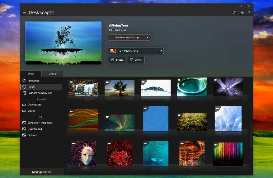 DeskScapes download For PC Windows