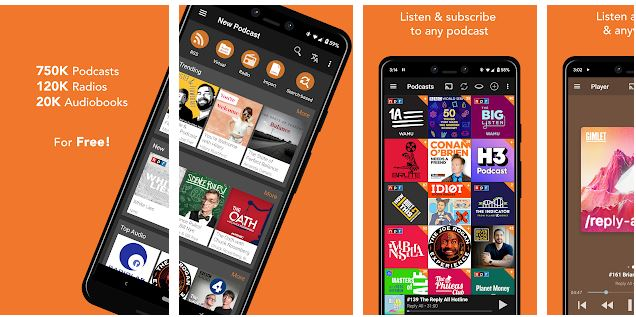 Download Podcast Addict for PC Windows 10