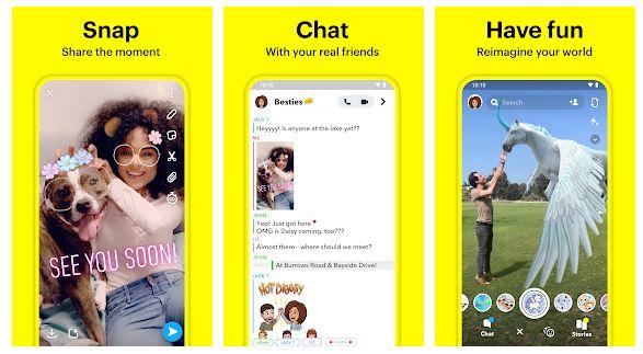 Funkcje Snapchata dla Windowsa & Prochowiec