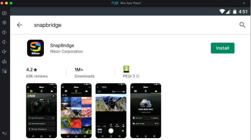 How to Install SnapBridge App for PC with Nox App Player