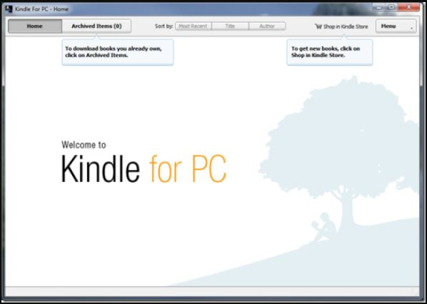 Kindle Reader for PC