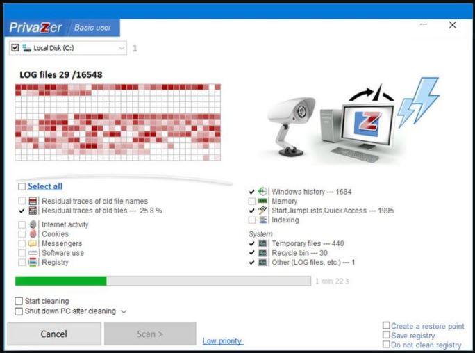 PC用Privazer