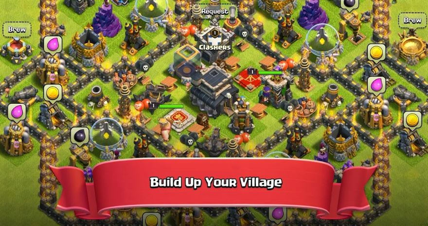 features of Clash of Clans For PC