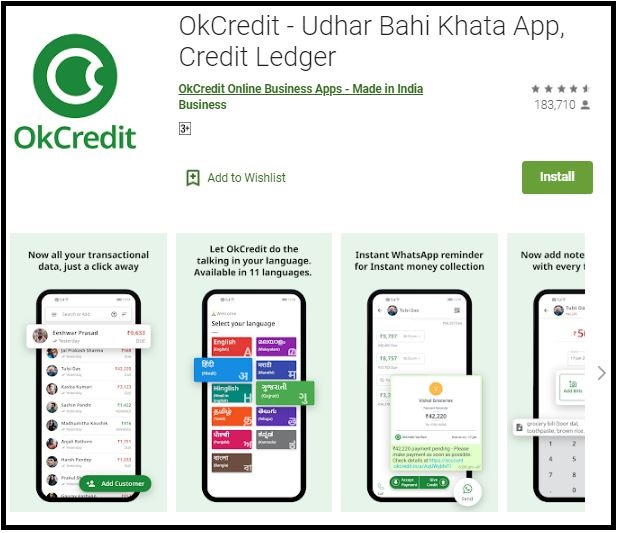 Free Download OkCredit App for PC