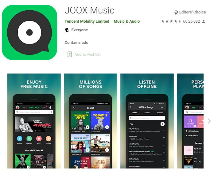 Joox Music Download Mo PC