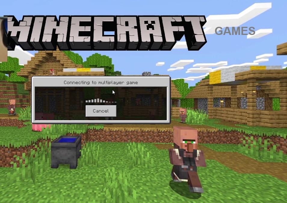 remoteconnect-Minecraft-game